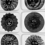 "FORNASETTI ""SUNS & MOONS"" CERAMIC SERVING TRAY"
