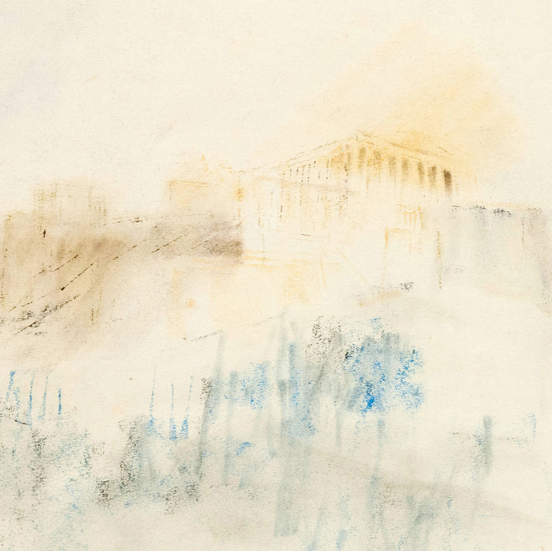 "TAKAO TANABE ""ATHENS"" DRAWING, 1955"