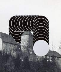 "THOMAS LENK ""SCULPTURE ON TIERBERG CASTLE"" 1975"