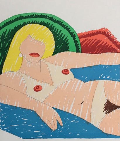 "TOM WESSELMANN ""SHINY NUDE"" 1977"