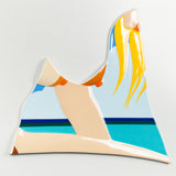 "TOM WESSELMANN ""SEASCAPE"" PORCELAIN, 1984"