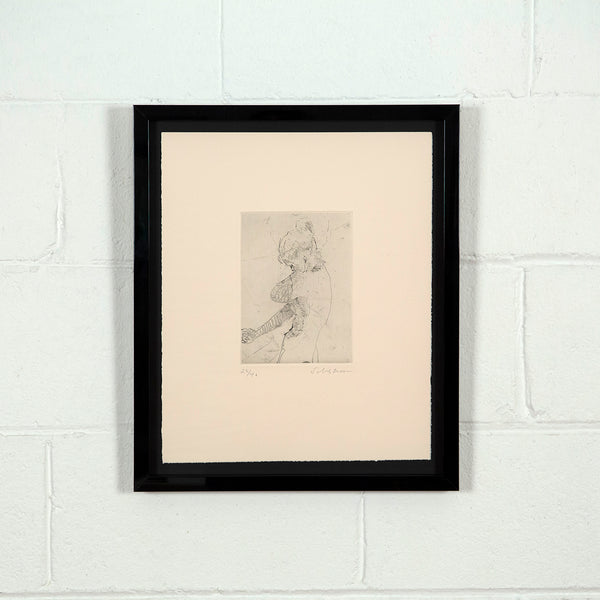 Tony Scherman 1999 etching Lady Macbeth, Caviar20