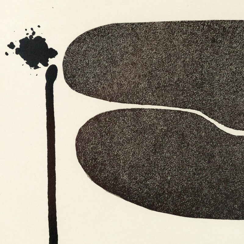 "VICTOR PASMORE ""POINTS OF CONTACT"" SCREENPRINT, 1972"