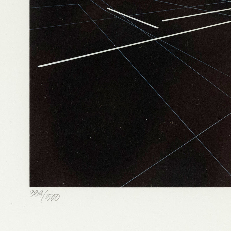 "ZAHA HADID ""VITRA FIRE STATION"" COLLOTYPE, 1993"