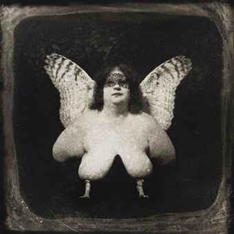 "JOEL-PETER WITKIN ""BIRD OF QUEVADA"" PHOTO, 1982"