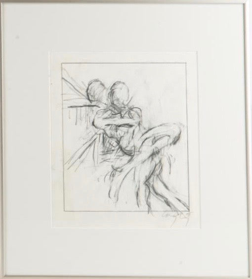 "GRAHAM COUGHTRY ""DUO"" DRAWING, 1983"