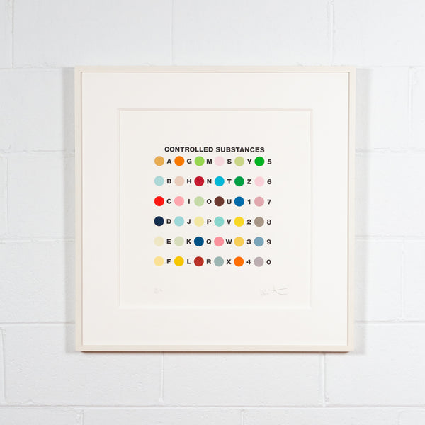 "DAMIEN HIRST ""CONTROLLED SUBSTANCES"" 2011"