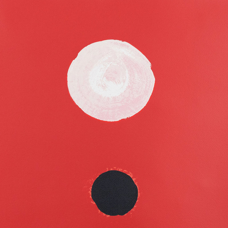 Adolph Gottlieb Crimson Ground 1972 screenprint Caviar20