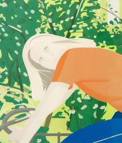 Caviar20 Alex Katz Bicycle Rider 1982 prints
