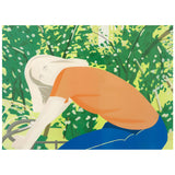 "ALEX KATZ ""BICYCLE RIDER"" 1982"
