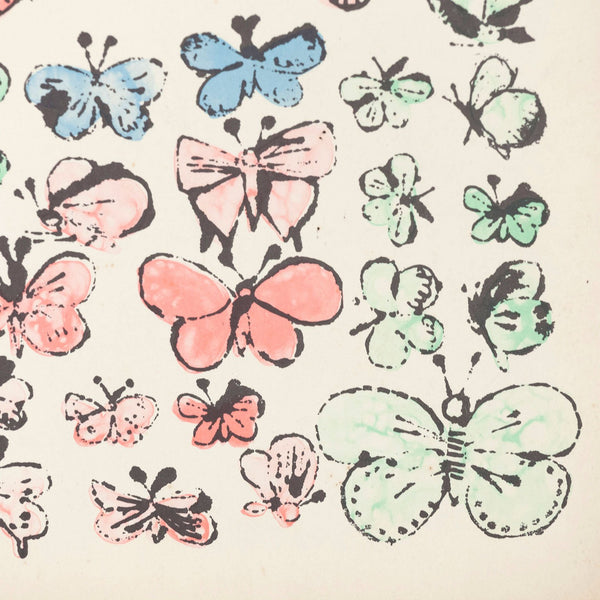 Andy Warhol The Vanity Fair Butterfly folder 1956