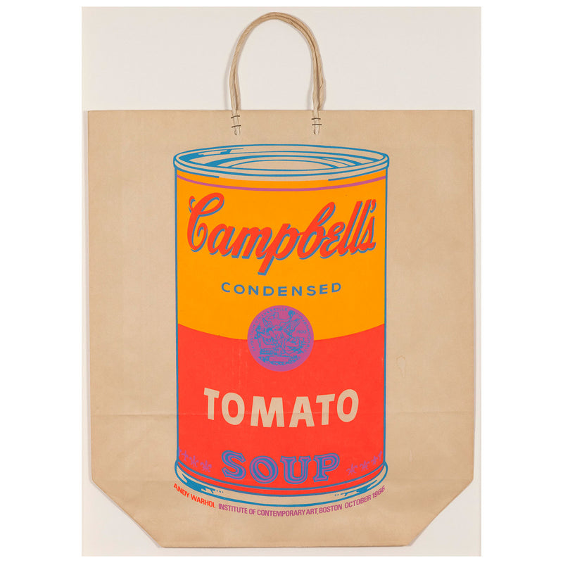 Andy Warhol Soup Can Bag Boston Caviar20