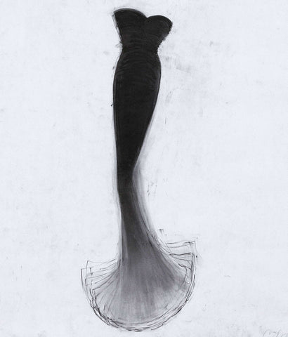 "CATHY DALEY ""LITTLE BLACK DRESS"" LITHO, 2001"