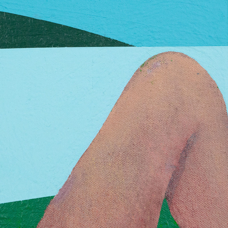 Charles Pachter, Bather, Painting, Acrylic on Canvas, 1980, Caviar20