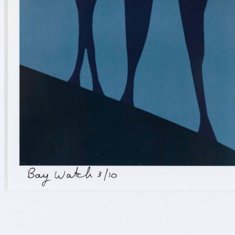 "CHARLES PACHTER ""BAY WATCH"" GICLEE, 2012"
