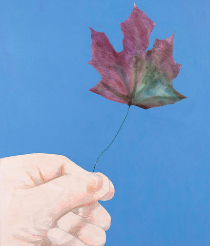 "CHARLES PACHTER ""BE LEAF ME"" PAINTING, 2016"