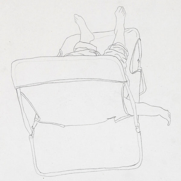 Charles Pachter Chaise Chill 1983 drawing Caviar20