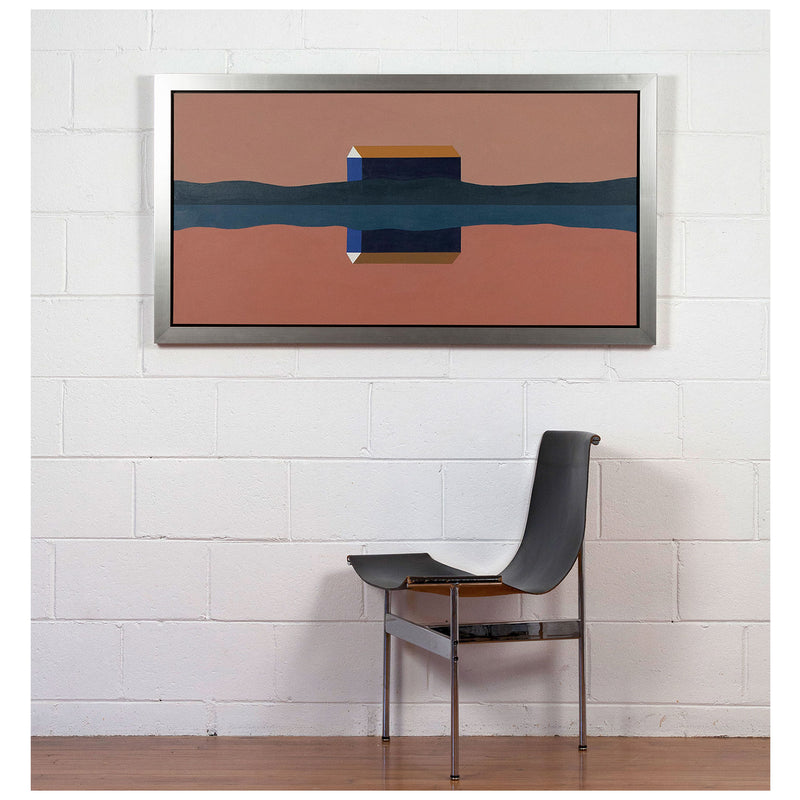 Caviar20 Charles Pachter Dawn Barn painting