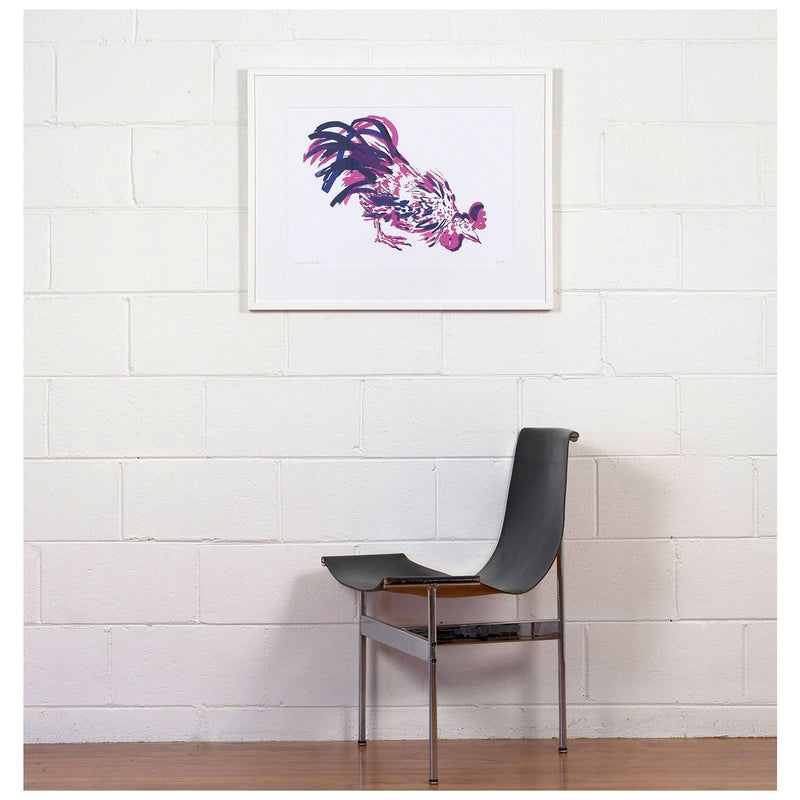 Caviar20 Charles Pachter Rooster prints