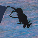 "CHARLES PACHTER ""MOOSE PLUNGE"", 1986"
