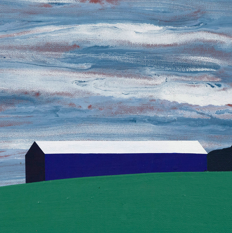 Charles Pachter Oro Barn 1998 Caviar20 painting barn