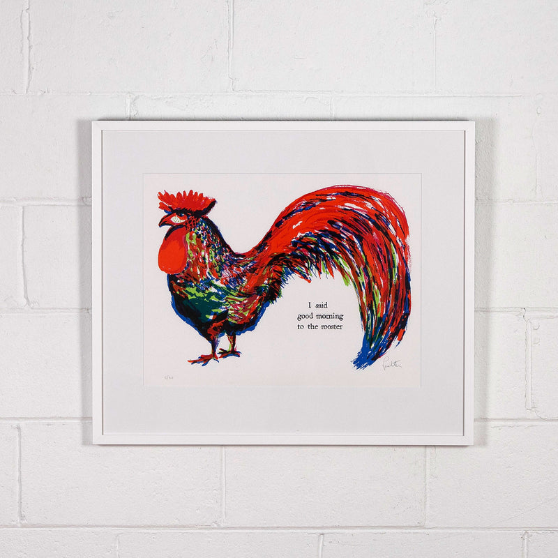 Charles Pachter prints Rooster Caviar20