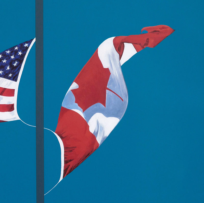 "CHARLES PACHTER ""SIDE BY SIDE"" LITHO, 2001"