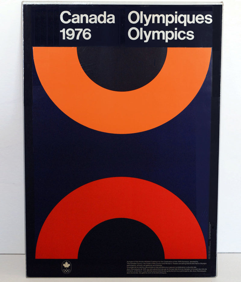 "CLAUDE TOUSIGNANT ""MONTREAL 1976"" OLYMPIC POSTER"