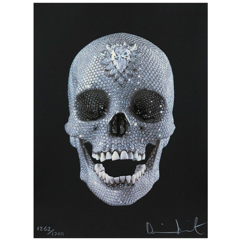 Damien Hirst prints For the Love of God 2007 Caviar20