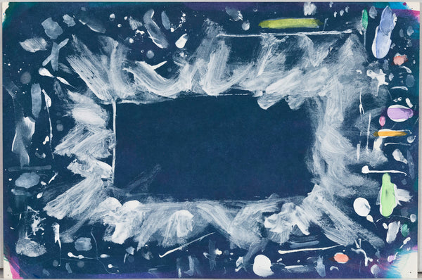 Dan Christensen Untitled Blue Splash 1999 Caviar20