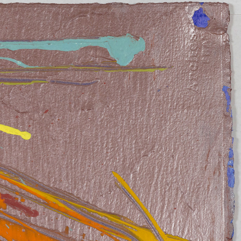 Dan Christensen Indian Summer 1983 work on paper Caviar20