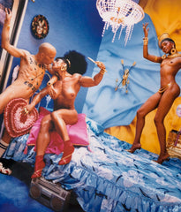 "DAVID LACHAPELLE ""BRONX, BEDROOM"" 1997"