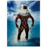 "DAVID LACHAPELLE ""MAN WITH DIVING BELL"" 1995"