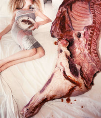 "DAVID LACHAPELLE ""MEAT, LAS VEGAS"" 1997"