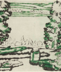 "DAVID MILNE ""PAINTING PLACE"", 1931"