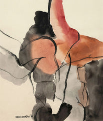 "DENNIS BURTON ""UNTITLED WATERCOLOR"", 1959"
