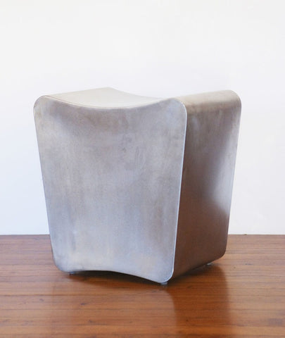 STEPHANE DUCATTEAU STAINLESS STEEL STOOL