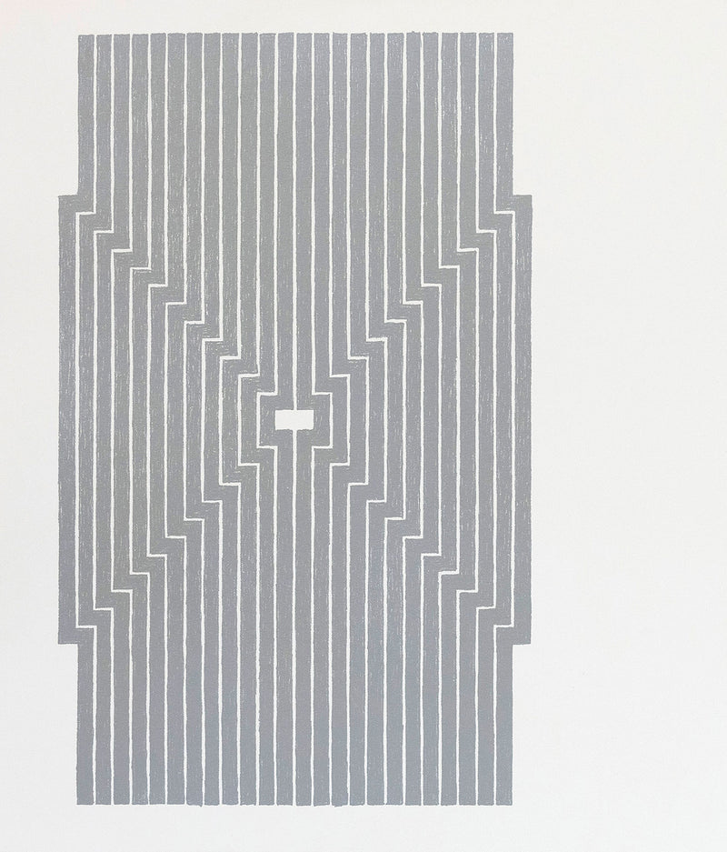 Frank Stella Aluminum Union Pacific print Caviar20 Six Mile Bottom