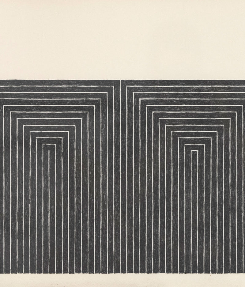 Frank Stella Marriage of Reason and Squalor 1968 Black Series II Caviar20