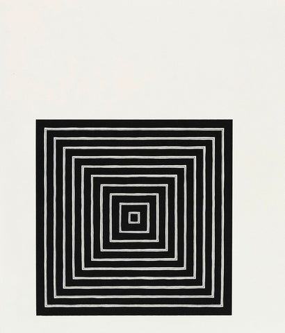 "FRANK STELLA ""CONSPIRACY"" LITHOGRAPH, 1971"