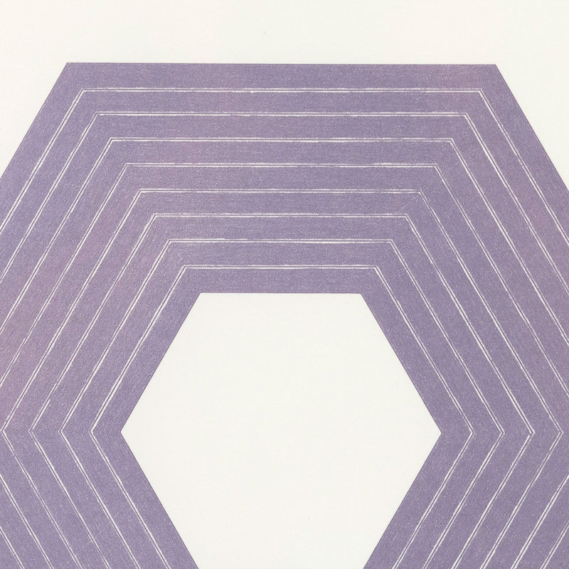 Frank Stella Sidney Guberman Purple Series Caviar20 prints