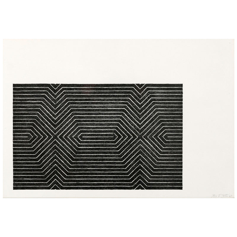 Frank Stella Turkish Mambo Black Series prints Caviar20