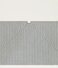 "FRANK STELLA ""UNION PACIFIC"" SCREENPRINT, 1970"