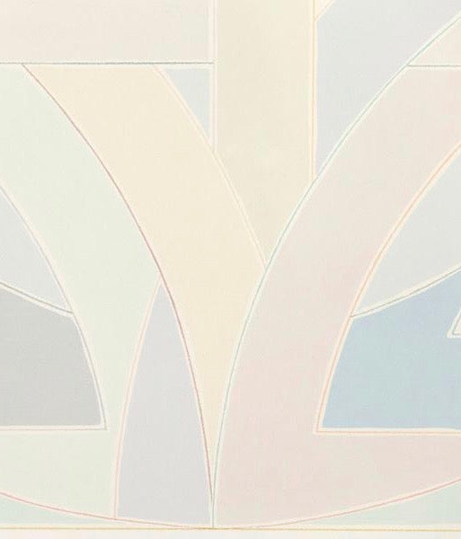"FRANK STELLA ""YORK FACTORY I"" SCREENPRINT, 1971"