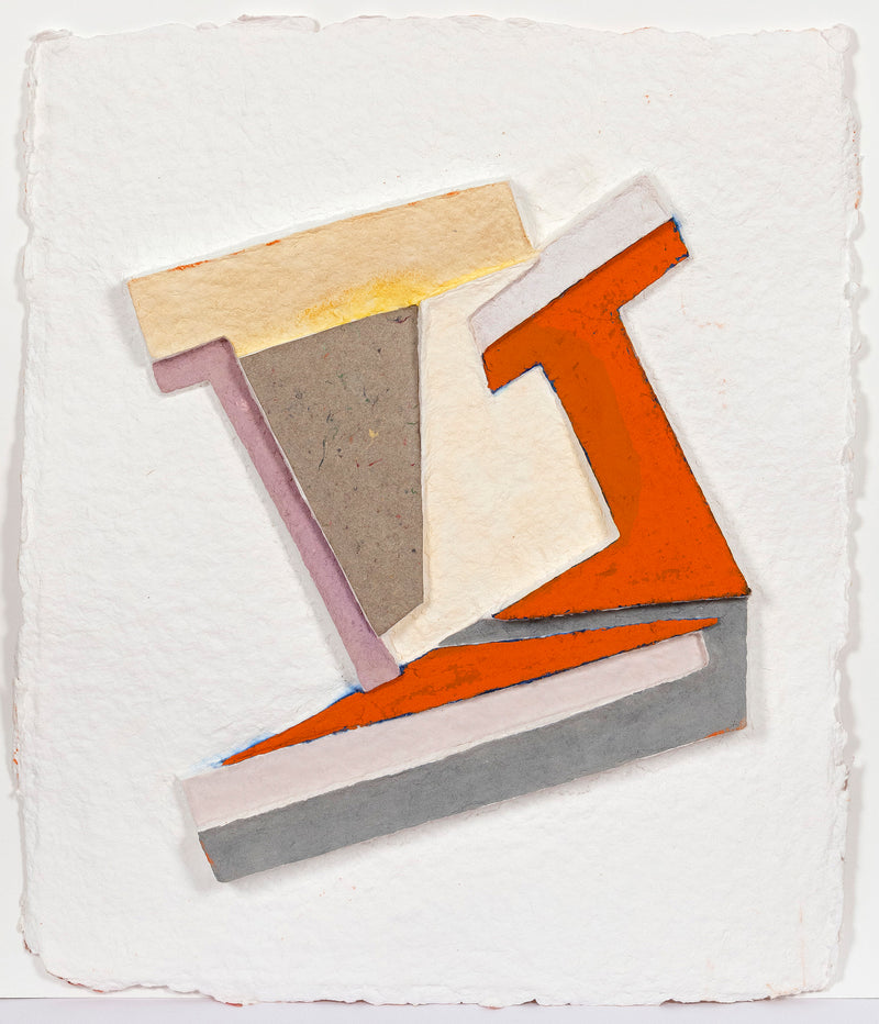 Frank Stella Polish Village Series of 1971-73 Work on paper