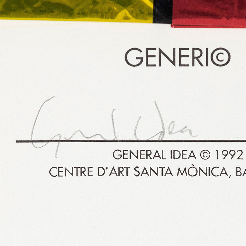 General Idea Generic mulpliple 1992