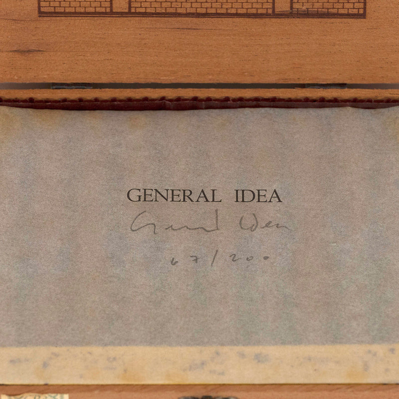 General Idea Cigar Box 1985 Caviar20