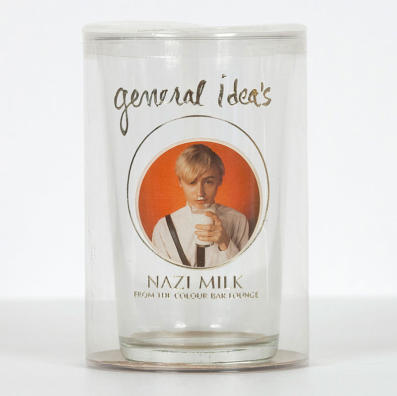 "GENERAL IDEA ""NAZI MILK GLASS"", 1980"