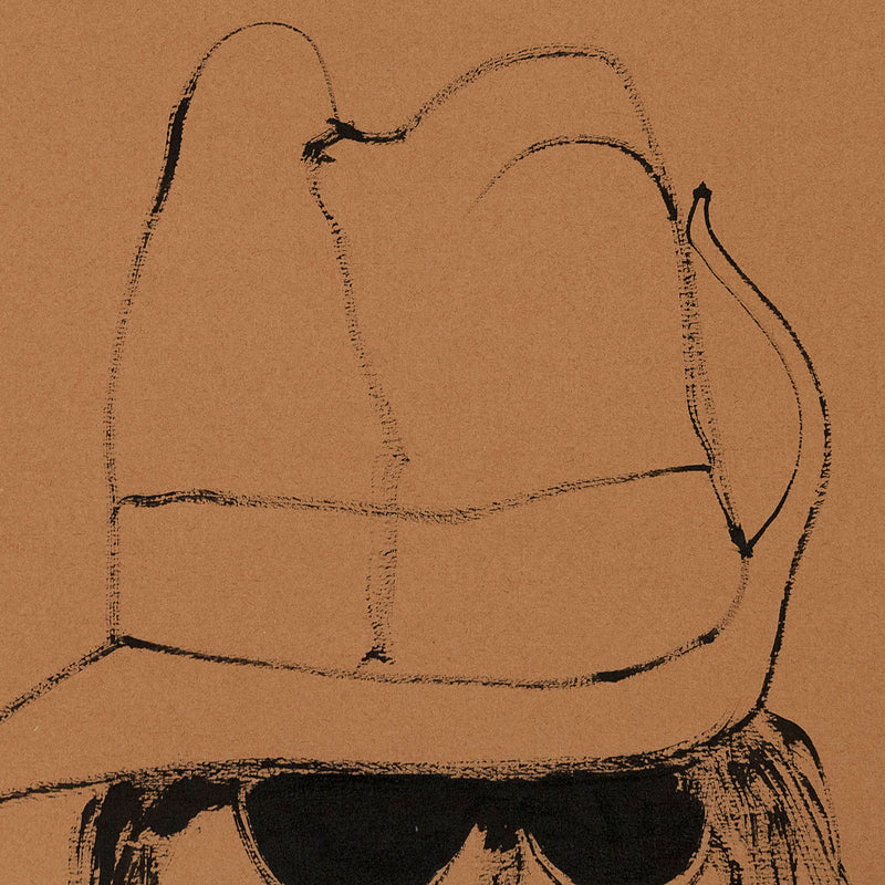 "HAROLD TOWN ""HIPPIE WITH A DIGGER HAT"", 1968"