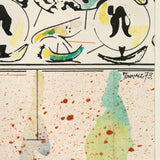 "HAROLD TOWN ""SUMMER FRIEZE"" DRAWING, 1973"